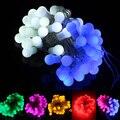 Fairy lights 5M 50 Led LED Ball String Light for Christmas wedding decoration+AC220-240V 8 Display Mode Controller