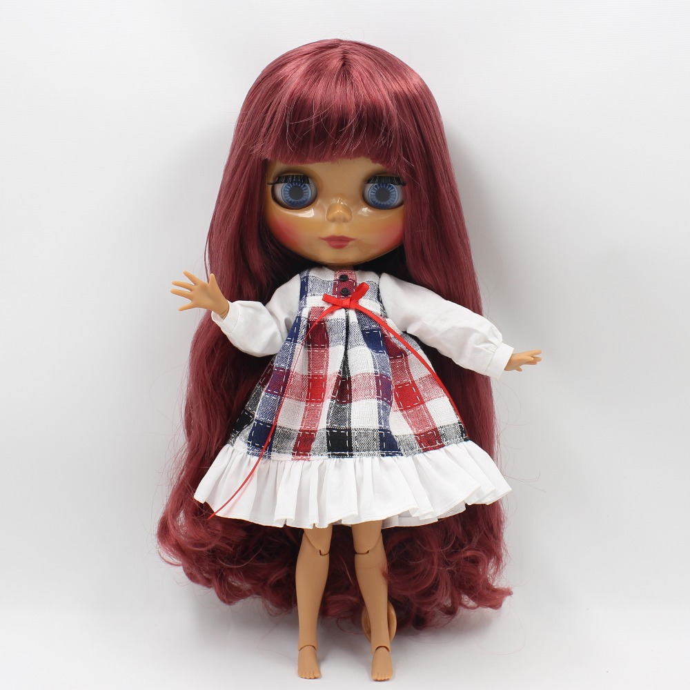 Factory Blyth Doll Nude Doll 330BL2231/2237 Red Brown