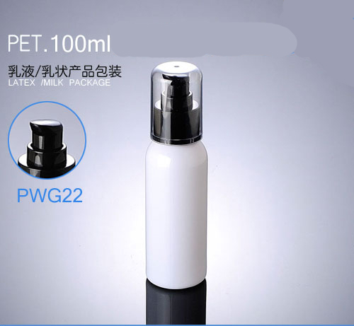 300 шт/партия Высокое качество пластик 100 мл; дозатор для лосьона бутылка для воды для женщин макияж черный насос контейнер 100 г многоразового горшок