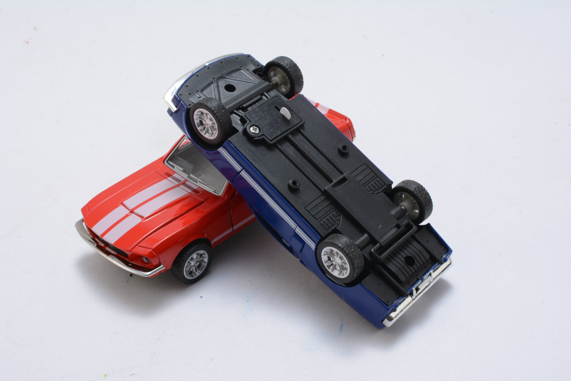 Ford Mustang GT 1967 GT500 Toy Car 13x5x35cm 18