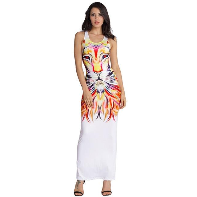 21f4631053 Hot-Selling-Summer-Dress-2017-Women-Casual-Dresses -Sexy-Sleeveless-Tank-Lion-Print-White-Long-Maxi.jpg_640x640.jpg
