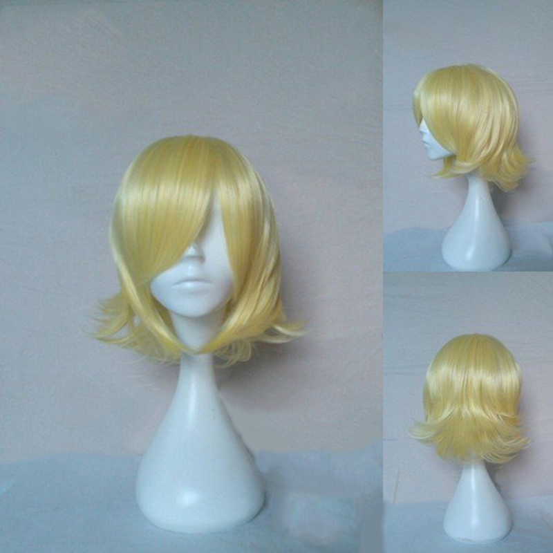 HAIRJOY Synthetic Hair Wigs Short Straight Cosplay Wig  13 Colors Available Freeshipping 50
