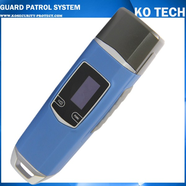 JWM Waterproof IP67 Rugger RFID Guard Tour Patrol System, Security Patrol Wand,Guard Tour Device fingerprint real time security guard tour system for patrol verification