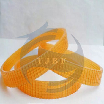 1 piece 3J630 ribbed belt pu material with steel cord length 630mm ribs number 3 high quality number