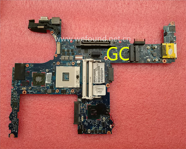 Laptop Motherboard For 8460P 8460W 642754-001 642754-501 System Mainboard Fully Tested