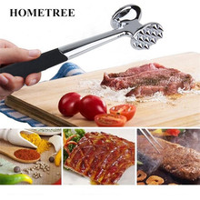 HONETREE 1Pc High Quality Stainless Steel Chicken Meat Hammer Metal Beef Steak Hammer Tenderizer Kitchen Cooking Meat Tools H586 manual stainless steel fresh meat tenderizer steak chicken meat injector kitchen tools for comercial and household