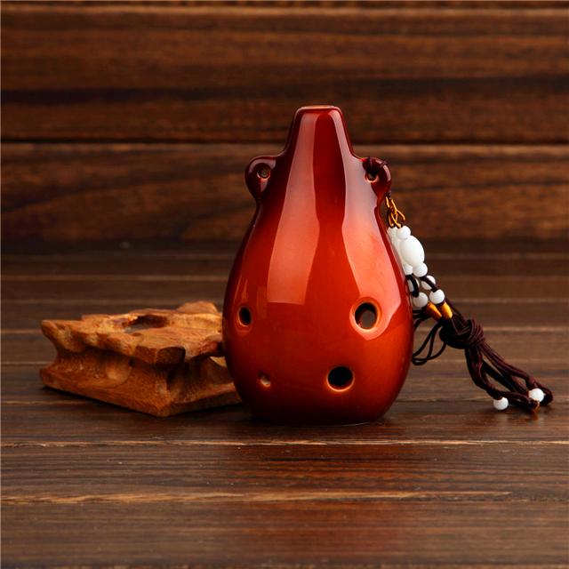 Ceramic Alto Ocarina Flute
