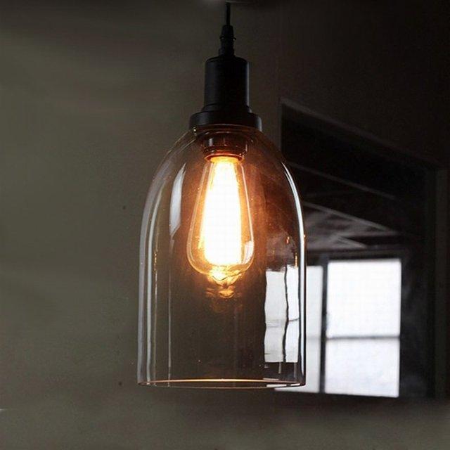 Rétro Vintage loft Vin Bouteille industrielle noir verre led