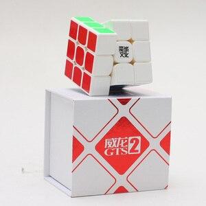 Image 5 - 最高moyu威龍gts V2 m磁気3 × 3 × 3 GTS2Mマジックキューブプロwca GTS2 m 3 × 3スピードキュービング速度マジコ立方教育玩具
