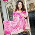 Mulheres lenços de alta qualidade cachecol de lã xale étnico senhoras long neck scarf tippet femme femme foulard tippet