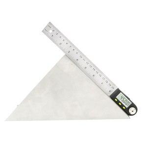 Image 4 - Règle dangle numérique 2 en 1 avec lames en acier inoxydable, 200mm, rapporteur numérique, goniomètre numérique