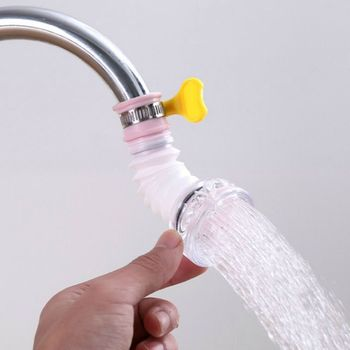 Water Saver Can Telescopic Tap Water Filter Tools Kitchen Bathroom Accessories Sprinkler Filter Faucet Extenders