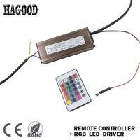 100 W RGB LED Driver Licht Transformator Externe Constante Stroom 300mA Waterdichte Driver + Afstandsbediening voor Led Lampen