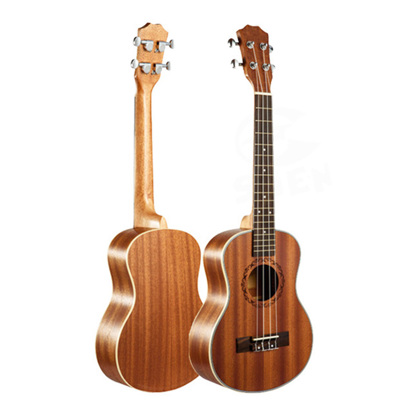23 Ukulele 4 String Instruments Mini Hawaiian Guitar Rosewood Fretboard Mahogany Electric Ukulele with Pickup EQ Uke guitarra23 Ukulele 4 String Instruments Mini Hawaiian Guitar Rosewood Fretboard Mahogany Electric Ukulele with Pickup EQ Uke guitarra