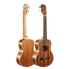 23″ Ukulele 4 String Instruments Mini Hawaiian Guitar Rosewood Fretboard Mahogany Electric Ukulele with Pickup EQ Uke guitarra