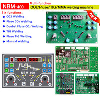 Welding inverter board Double pluse CO2 TIG MMA of NBM500 multi function welding control cards