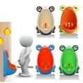Sapo Crianças Potty Training Wc Crianças Urinal para Meninos Pee Instrutor Do Banheiro