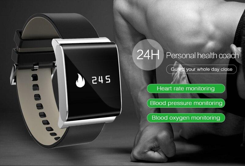 imágenes para Smartch pantalla táctil inteligente pulsera X9 actualizados más de ritmo cardíaco monitor de presión arterial y monitor de oxígeno banda inteligente pk CK11 C1