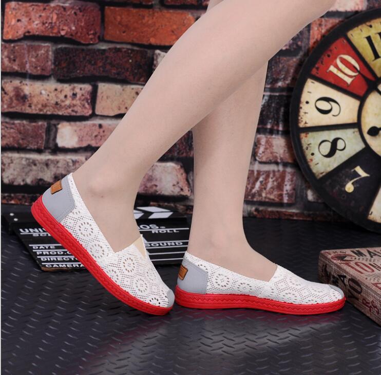 Femmes 2017 Web Chaussures Toile Travail Chaussures Mary rouge Roue Ciel D'arachide Loisirs De Casual Étudiants Appartements pu Noir blanc Fond dr1rBnfq