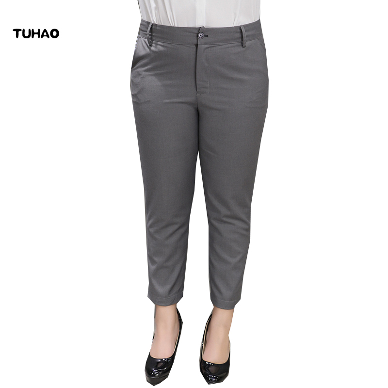 Women Casual Elastic Waist with Drawstring Solid Pants with Pockets CLSV