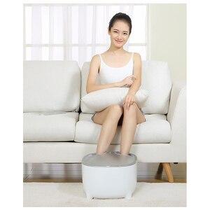 Image 2 - Youpin Momoda ขนาดเล็กสตูลเท้าอุ่นสตูล Massager 2 In 1 สามขั้นตอนเท้านวดหมอนร้อน  การบีบอัดอุ่นฟุต