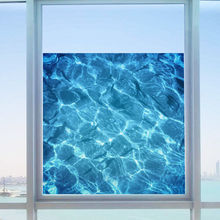 Film Water Ripple Window Decal Privacy Glass Cover Home Shower Door Bedroom Wall Stickers