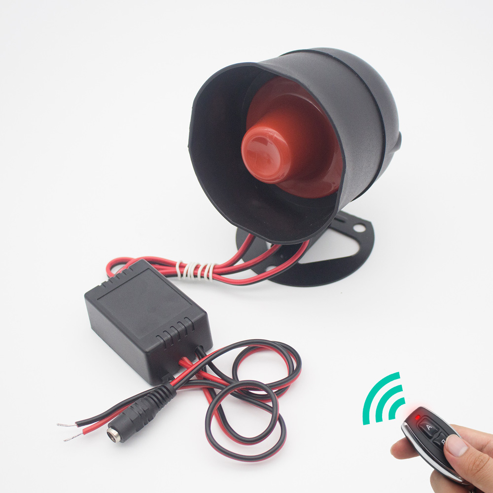 Remote Alarm Siren Horn Control , Loud Voice,Ideal for Home Security  Protection System,Warehouse,Factory,School,Garage,Hotel