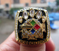 Free Shipping fashion 2005 Pittsburgh Steelers Super Bowl Championship Ring solid high quality