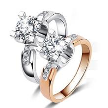 Wedding Engagement Ring for Women Zirconia Jewelry Accessory BEEG