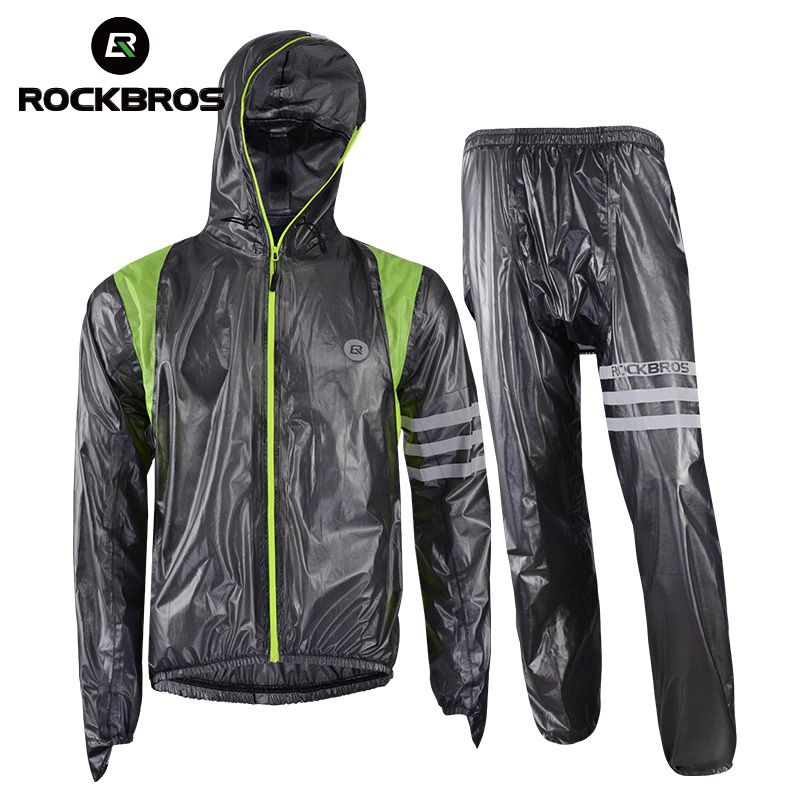ROCKBROS Cycling Clothing Waterproof Bike Ropa-Ciclismo Breathable Women MTB Raincoat