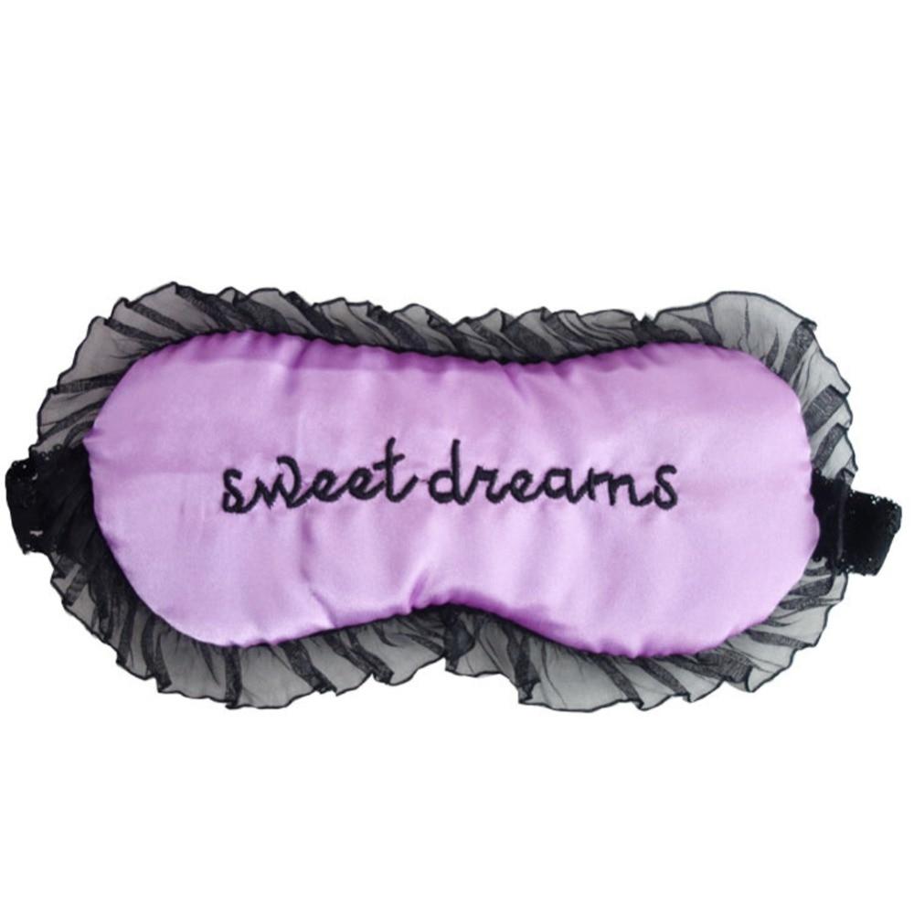 Duplex Silk Sleeping Eye Mask Sexy Eye Shade Sleep Mask Black Mask Bandage on Eyes for Sleeping#287964 4