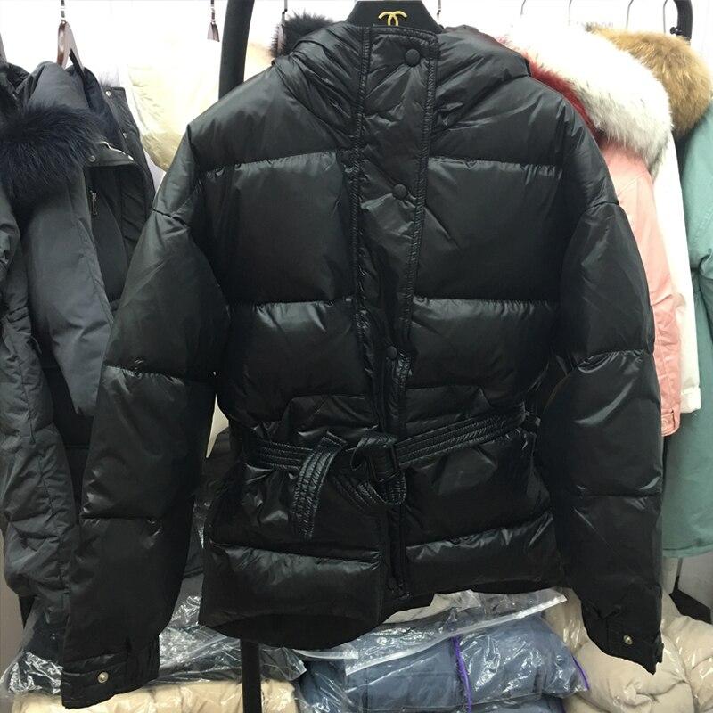 D'hiver Canard Femmes Mince Courte Ftlzz Capuchon Chaud Épaississement De À white Mode Veste Outwear Manteaux Black Conception Pain red Neige Duvet qwBSdSnWz