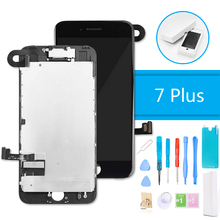 LCD Digitizer Display for iPhone 7 Plus 3D Touch Screen Replacement Full Assembly Complete + Repair Tools