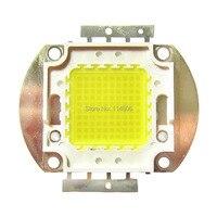 צורת כיכר 100 W 45mil שבב מגניב לבן 8500 ~ 9000LM 6000 ~ 6500 K SMD אור LED חלקי