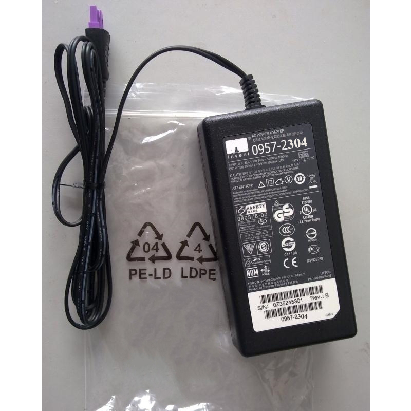 Vilaxh 0957-2304 32V 1560ma dc and 100V-240V~50-60HZ for HP printer AC Power Supply Adapter Charger