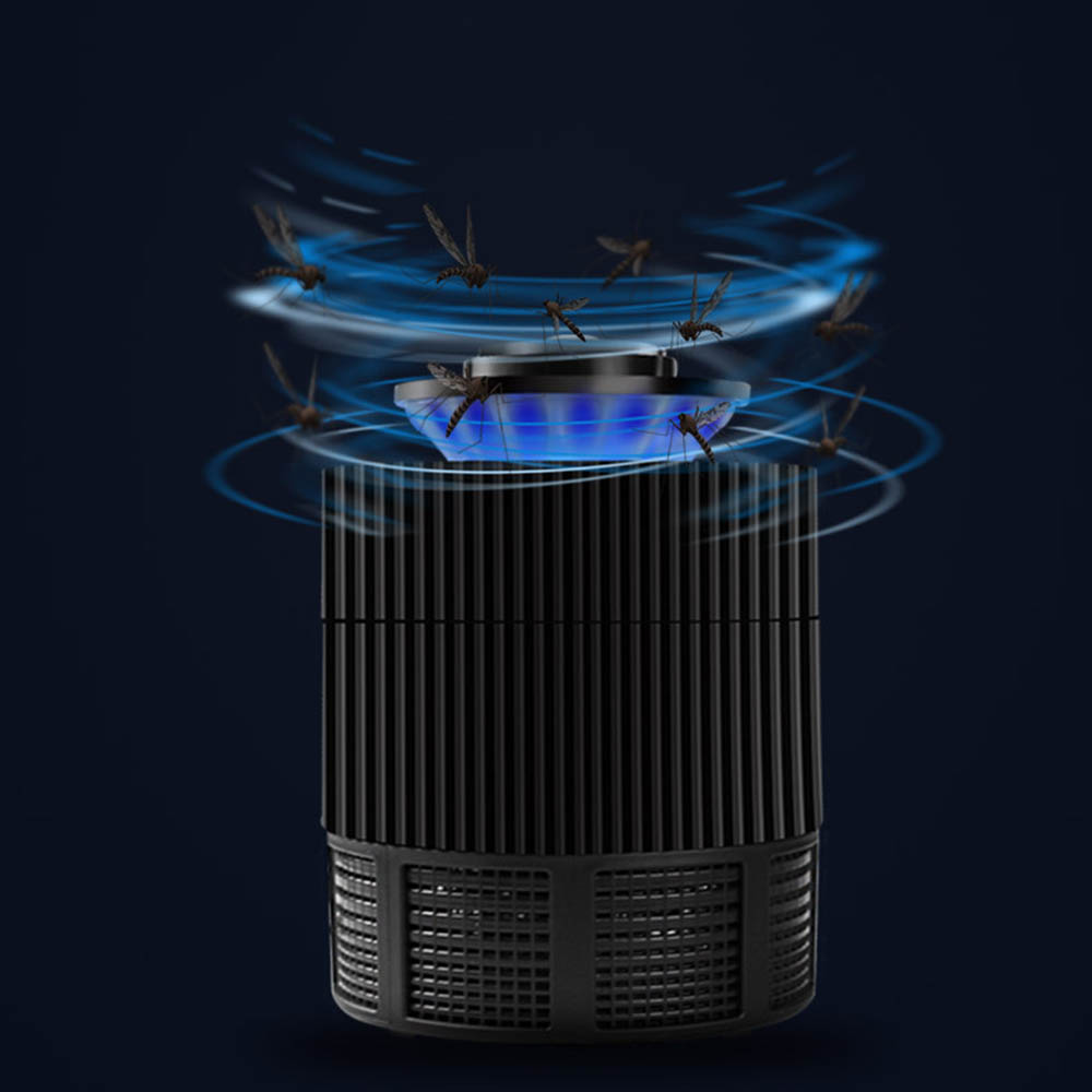 Aleekit Outdoor Camping USB Photocatalyst Mosquito Repellent Bug Insect Trap light UV Light Lamp Household LED Mosquito Repeller