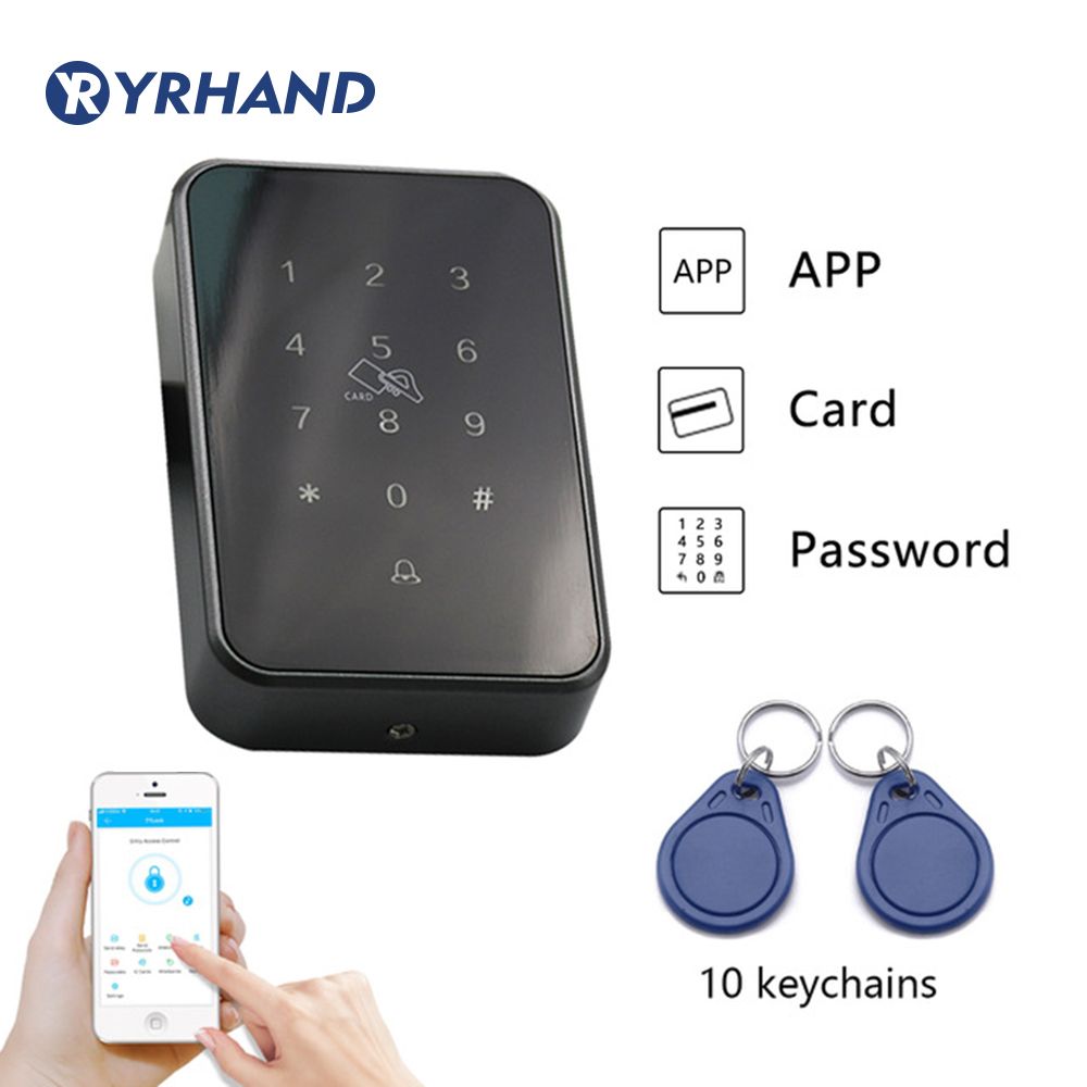 13 56khz App Rfid Door Access Control Reader electronic furniture digital Keypad door lock card reader