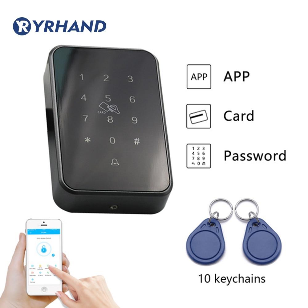 TT Lock App Rfid Door Access Control Reader,  Electronic Furniture Digital Keypad Door Lock Card Reader Bluetooth Smart Lock