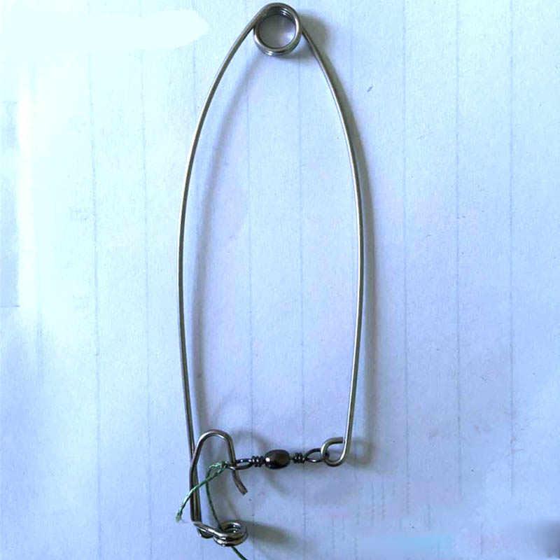 BianchiPamela Mini Type Automatic Fishing Hook Stainless Steel Lazy Person Fish Hook