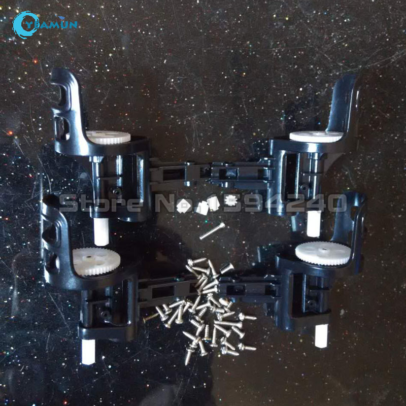 SYMA X5C X5C-1 X5 RC Quadcopter parts Motor Base Cover /  black color motor holder and x5c screw + motor gears syma x5 x5c 1 4pc set clockwise anti clockwise motor with brass gear for syma x5 x5c x5c 1 quadcopter clockwise motor anti clock