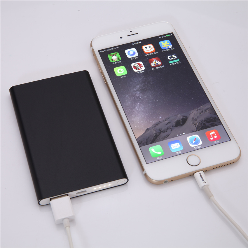 Usb-Battery-Charger Charging-Cable Power-Bank iPhone Xiaomi Portable 10000mah Includes