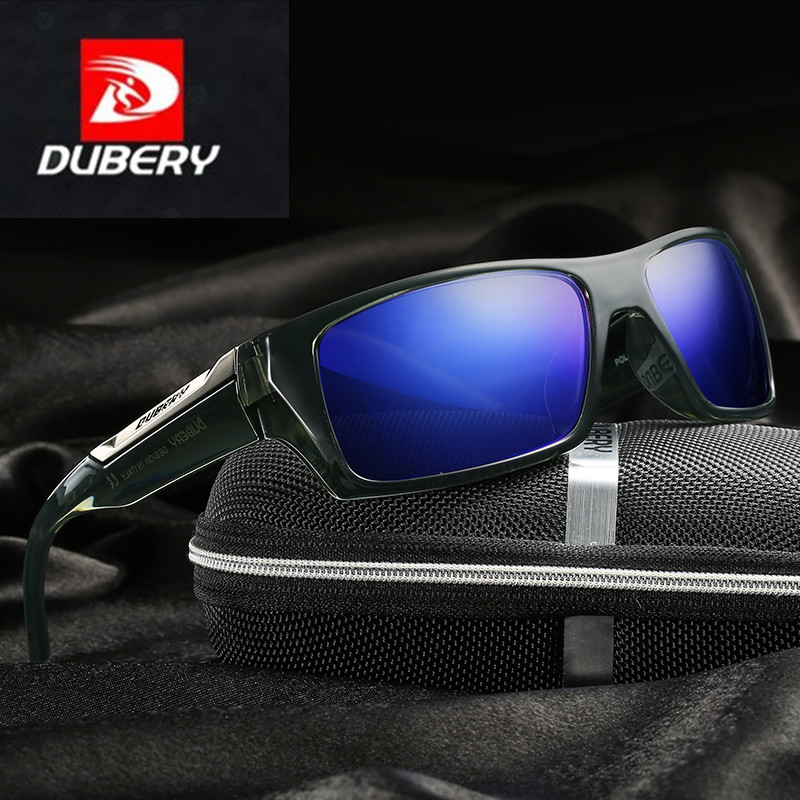 Gafas de Sol Polarizadas UV400 Aviador Diseño Retro Hombre DUBERY Conducción