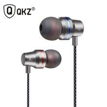 Earphones QKZ DM1  Clear Bass Earphone With Microphone In-Ear Earphone Special Edition Headset Earphones3 Colors fone de ouvido