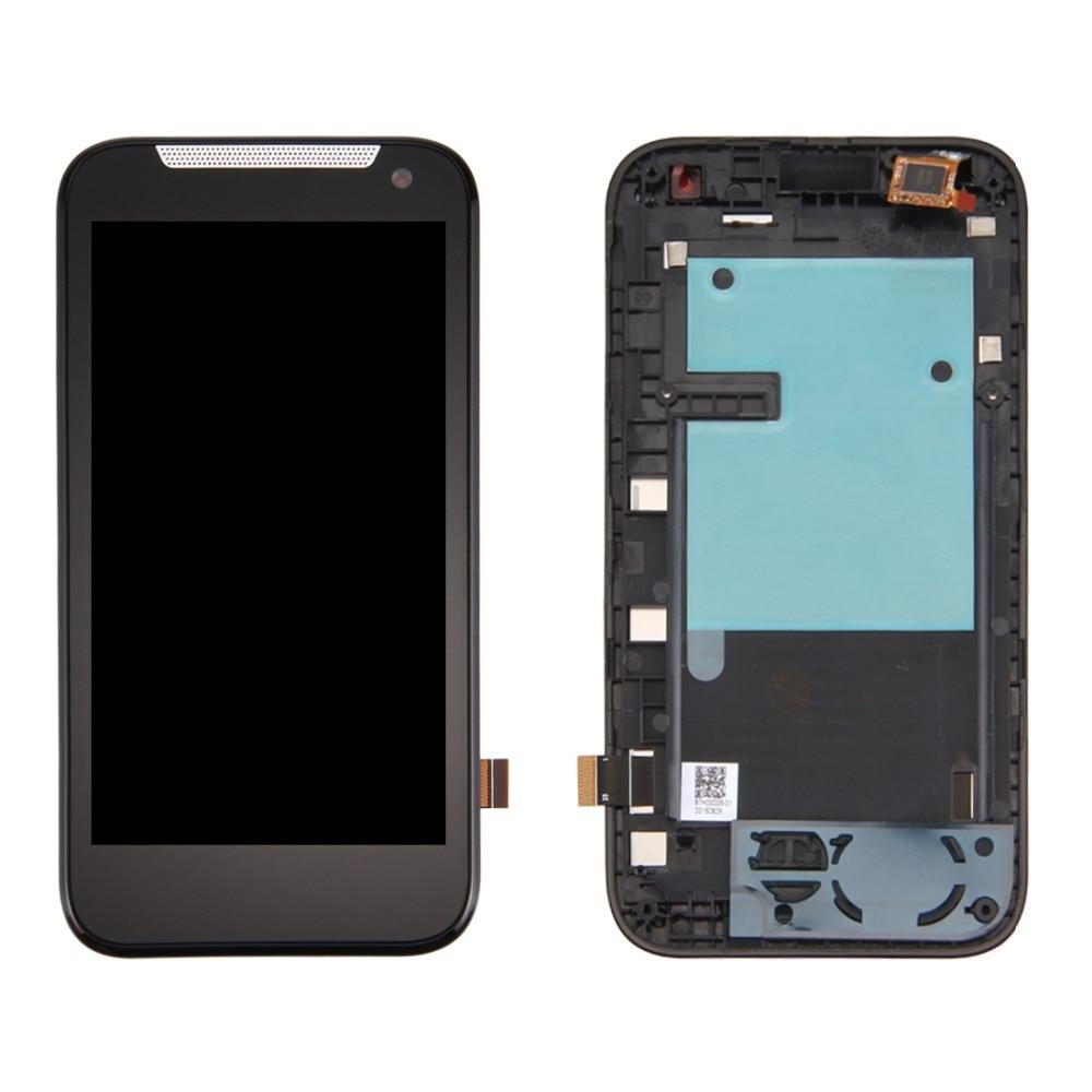 Dual SIM LCD Screen and Digitizer Full Assembly with Frame for HTC Desire 310Dual SIM LCD Screen and Digitizer Full Assembly with Frame for HTC Desire 310