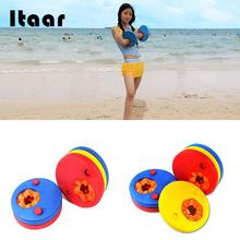 Children's Kids Arm Band Circle Floating Sleevesring Swim Ring Safty Roll-Ups Swimming Accessories