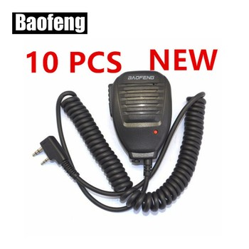 New 10 PCS BAOFENG Speaker Microphone for Ham Two Way Radio Walkie Talkie UV5R GT3 888s