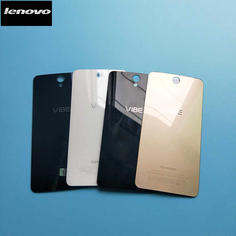Original For Lenovo Vibe S1A40 Replacement Glass Battery Back Cover Case For Lenovo S1 S1A40 Battery Housing Rear Cover 4 Colors
