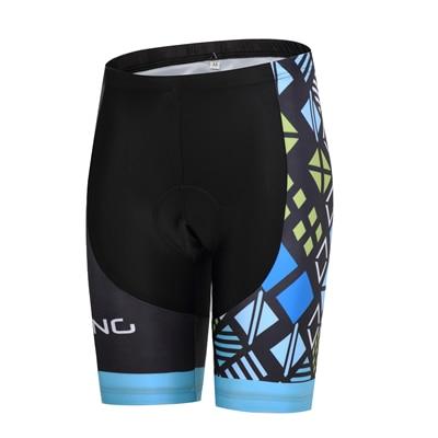 Шорты для велосипедистов MTB Женская профессиональная одежда для велоспорта Женская Спортивная одежда для спорта на открытом воздухе дышащие велосипедные шорты с вкладышами гель - Цвет: DS007WS