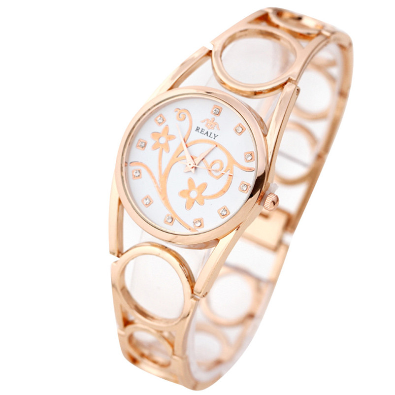 luxury Watches Women Bracelet Watch Rose Gold Silver Crystal quartz Analog wrist Watches relogio feminino montres Free shipping hot unique women watches crystal leather bracelet quartz wrist watch mujer relojes horloge femmes relogio drop shipping f25