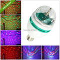 Wholesale 3W RGB E27 LED stage Light Colorful Rotating Globe Light Bulb Lamp for Party DJ